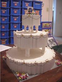 Katy's lego cake